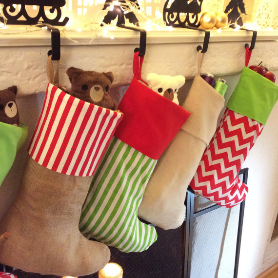 Personalized stockings for Christmas