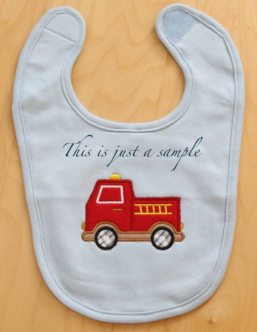 Personalized Baby bib 100% organic cotton